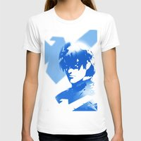 nightwing T-shirts featuring Nightwing Gradient #01 by markclarkii