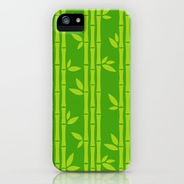 Evergreen Chinese Bamboos iPhone Case