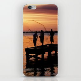 Casting Wide iPhone Skin