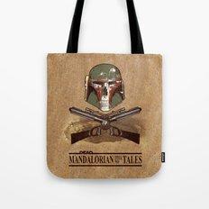 Dead Mandalorian Tell No Tales Tote Bag