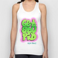 fresh prince Tank Tops featuring Fresh Prince by DeMoose_Art