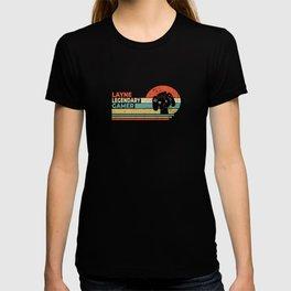 Layne Legendary Gamer Personalized Gift T-shirt