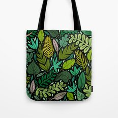 Green Scatter Tote Bag