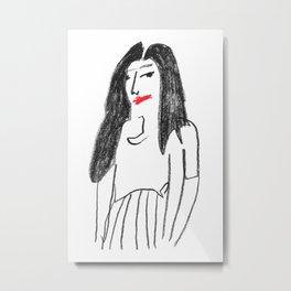 Kylie2 Metal Print