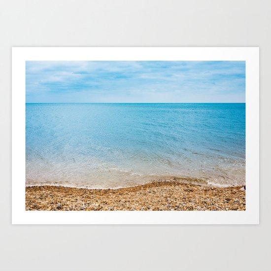 Tropical Beaches Art Print