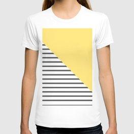 dismantled pattern T-shirt