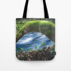 Enchanted magical forest Tote Bag