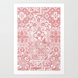 celtic coral Art Print