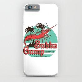 Bubba Gump Shrimp Company iPhone Case