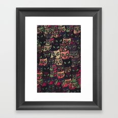 cat-927 Framed Art Print
