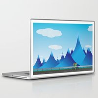 cycle Laptop & iPad Skins featuring Cycle by kylecschaeffer