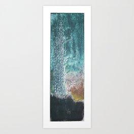 gravura colagraf landscape 05 Art Print