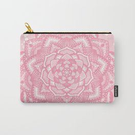 Pink mandala flower Carry-All Pouch