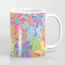 Flowers Print Coffee Mug