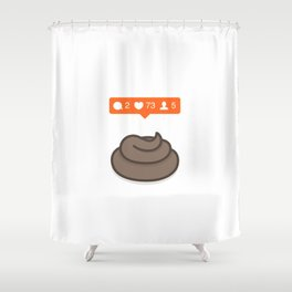 Instagrammification Shower Curtain