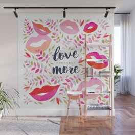 Love Yourself More #inspirational #society6 #decor Wall Mural