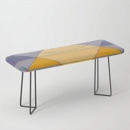 Pyramid Sun Mauve Purple Bench