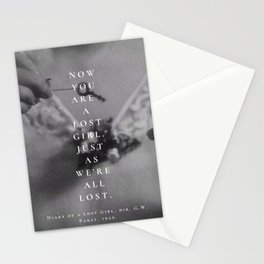 LOST GIRL. Stationery Cards