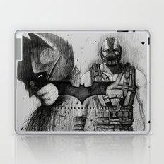 Bat In Black (The Dark Knight Rises) Laptop & iPad Skin