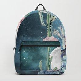 Desert Nights Gemstone Oasis Moon Backpack
