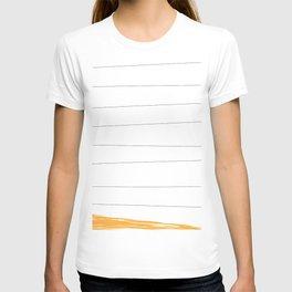 lineup yellow T-shirt
