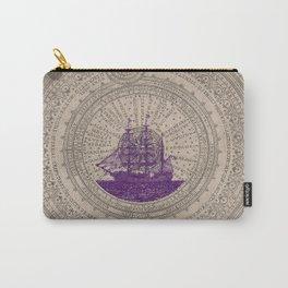 Purple Schooner Carry-All Pouch