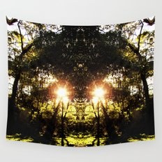 DMT Ferntree Forest Wall Tapestry