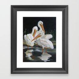Biloxi Bayou Lullaby Framed Art Print