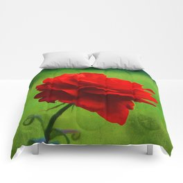 Rose of Love Comforters
