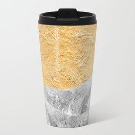 Modern Abstract - Sun and Mountains Travel Mug
