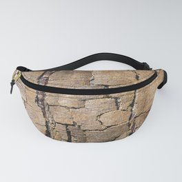 Brown tree trunk Fanny Pack