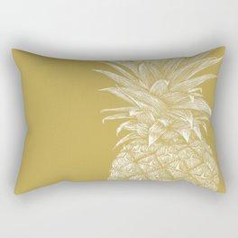 Pineapple : La Moutarde Rectangular Pillow