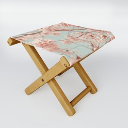 blossoms all over Folding Stool