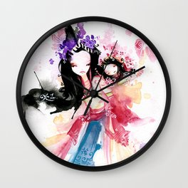 Story of Your Life Wall Clock