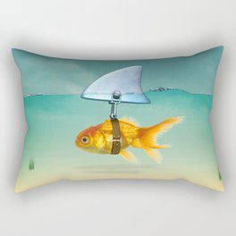 gold fish Rectangular Pillow