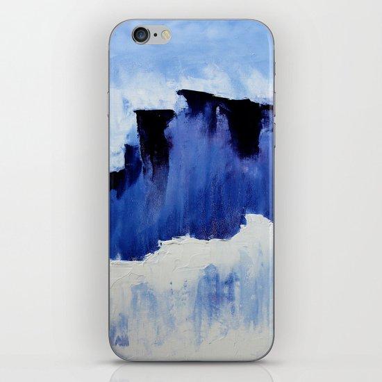 Cold Blue iPhone & iPod Skin