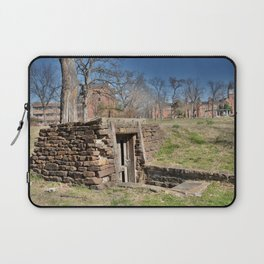 Cherokee Nation - Hendricks Spring, the Site Selected for Seminary Hall, after the first burned, #2 Laptop Sleeve
