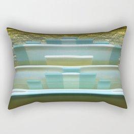 Wave Rise Rectangular Pillow