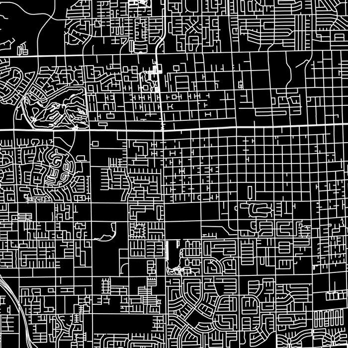 Las Vegas Black Map Leggings