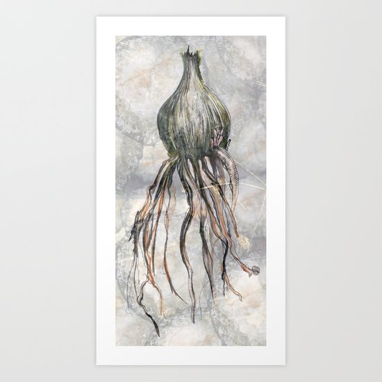 The Virgin Seed Art Print