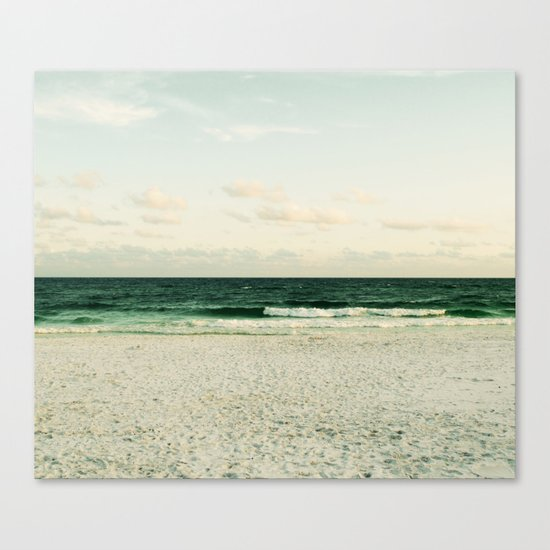 Lonely Wave Canvas Print