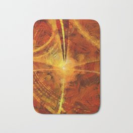 Abstract Art by Tito. Light Matter Bath Mat
