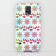 Holiday Pattern 2 Slim Case Galaxy S5