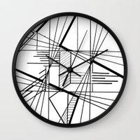 kaleidoscope Wall Clocks featuring Kaleidoscope  by Chris Klemens