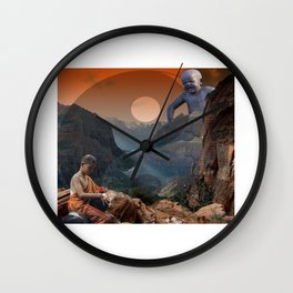 Confucius Buddhist Wall Clock