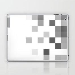 Gray Scale In Pixels Laptop & iPad Skin