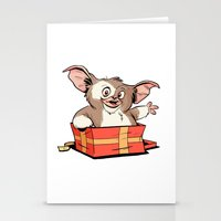 gizmo Stationery Cards featuring Gizmo Gift by The Drawbridge