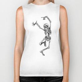Dancer Skeleton Biker Tank