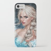 elsa iPhone & iPod Cases featuring Elsa by Fernanda Suarez