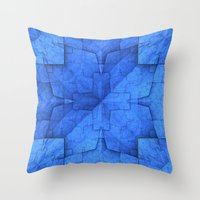 origami Throw Pillows featuring Origami by Lyle Hatch